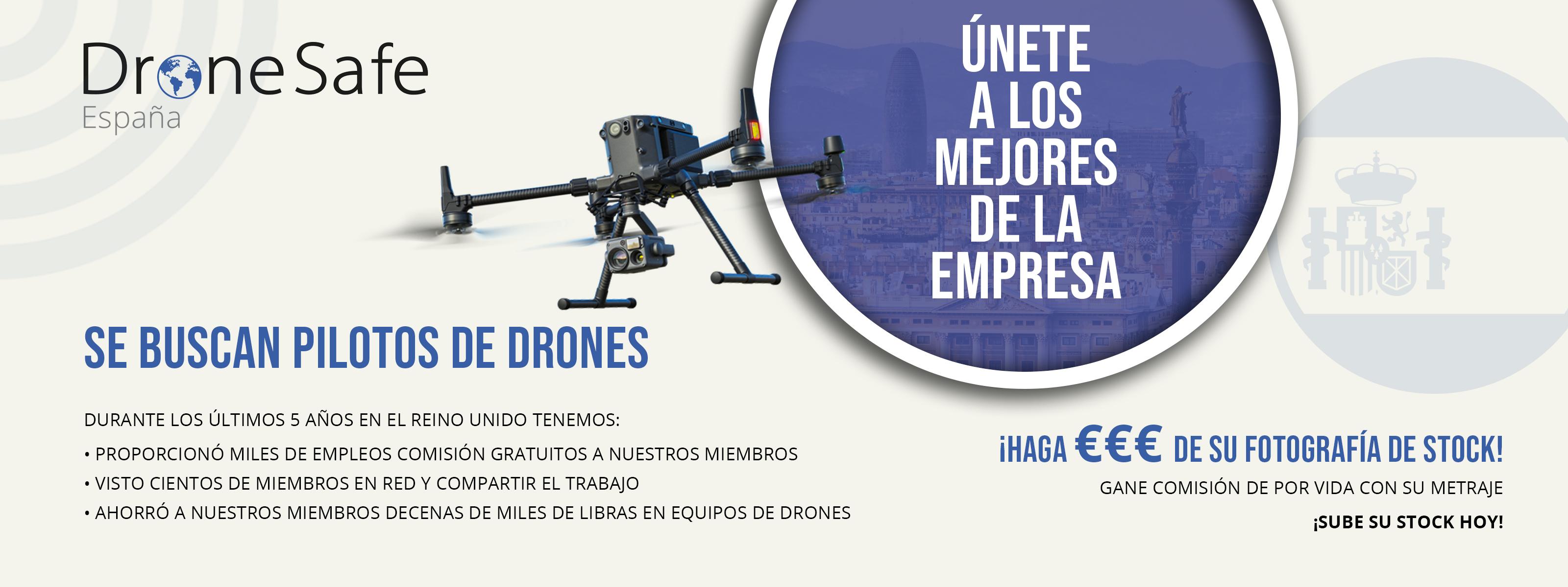 Membresía de operador comercial de drones