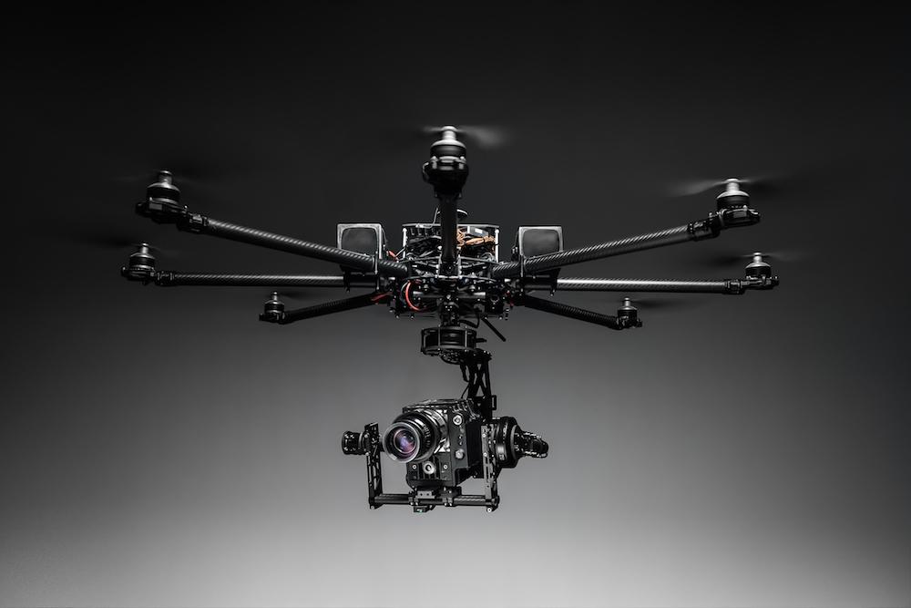 Drones para televisión y cine